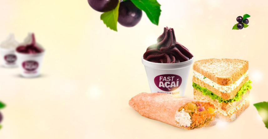 Conheça os novos sabores do verão Fast Açaí