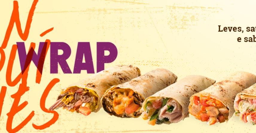 Wraps Fast Açaí: Leves, saudáveis e saborosos!
