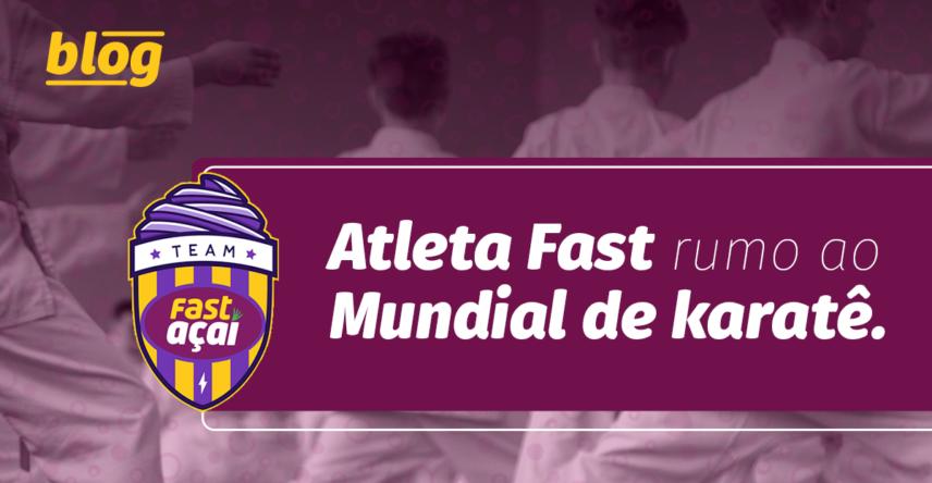 Atleta Fast rumo ao Mundial de Karatê