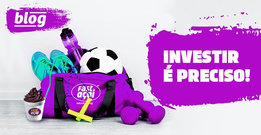 Patrocínio esportivo: somos fãs de esportes e investimos em atletas.