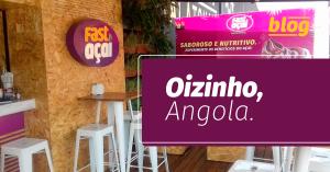 Franquia brasileira de açaí