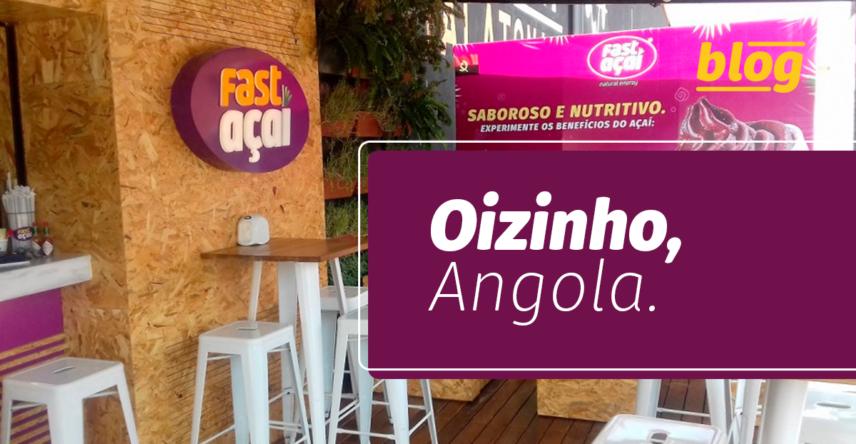Franquia brasileira de açaí está na Angola