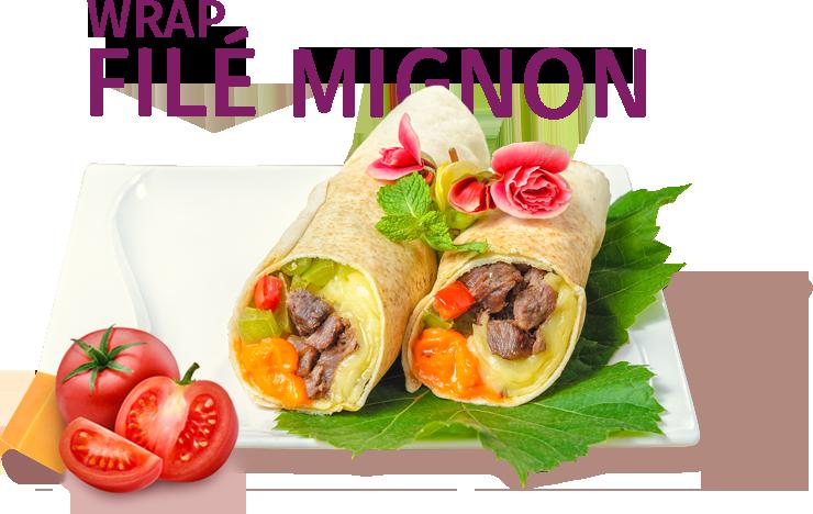 Wrap Filé Mignon
