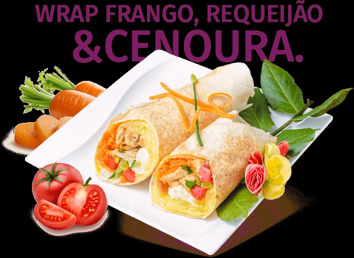 Wrap Peito de Frango